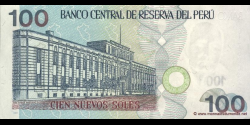 Pérou - p181 - 100 Nuevos Soles - 21.12.2006 - Banco Central de Reserva del Perú