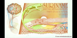 Suriname - p119 - 2½ Gulden - L. 08.04.1960 / 01.11.1985 - Government