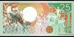Suriname - p132b - 25 Gulden - 09.01.1988 - Centrale Bank van Suriname