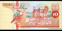 Suriname - p137b - 10 Gulden - 10.02.1998 - Centrale Bank van Suriname