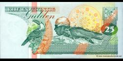 Suriname - p138d - 25 Gulden - 10.02.1998 - Centrale Bank van Suriname