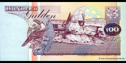 Suriname - p139b - 100 Gulden - 10.02.1998 - Centrale Bank van Suriname