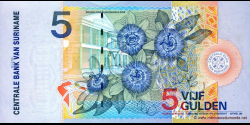 Suriname - p146 - 5 Gulden - 01.01.2000 - Centrale Bank van Suriname