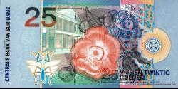 Suriname - p148 - 25 Gulden - 01.01.2000 - Centrale Bank van Suriname