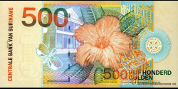 Suriname - p150 - 500 Gulden - 01.01.2000 - Centrale Bank van Suriname