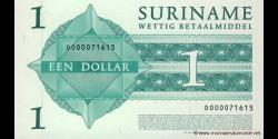 Suriname - p155 - 1 Dollar - 01.01.2004 - Government