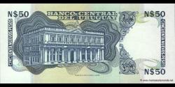 Uruguay - p61A - 50 Nuevos Pesos - ND (1989) - Banco Central del Uruguay