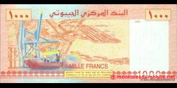 Djibouti - p42 - 1 000 francs - 2005 - Banque Nationale - République de Djibouti