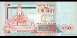 Uruguay - p84 - 50 Pesos Uruguayos - 2003 - Banco Central del Uruguay
