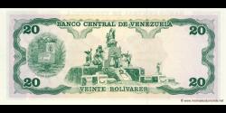 Venezuela - p63d - 20 Bolívares - 08.12.1992 - Banco Central de Venezuela