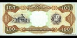 Venezuela - p66e - 100 Bolívares - 08.12.1992 - Banco Central de Venezuela