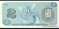 Venezuela - p69 - 2 Bolívares - 05.10.1989 - Banco Central de Venezuela