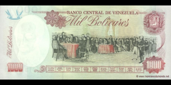 Venezuela - p76d - 1.000 Bolívares - 06.08.1998 - Banco Central de Venezuela