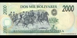 Venezuela - p77c - 2.000 Bolívares - 06.08.1998 - Banco Central de Venezuela