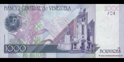 Venezuela - p79 - 1.000 Bolívares - 10.09.1998 - Banco Central de Venezuela