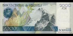 Venezuela - p80 - 2.000 Bolívares - 20.10.1998 - Banco Central de Venezuela