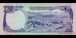 Afghanistan - p48a - 20 Afghanis - SH 1352 (1973) - Da Afghanistan Bank
