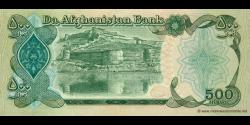 Afghanistan - p60c - 500 Afghanis - SH 1370 (1991) - Da Afghanistan Bank