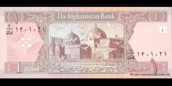 Afghanistan - p64a - 1 Afghani - SH 1381 (2002) - Da Afghanistan Bank