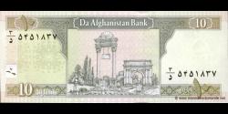 Afghanistan - p67a - 10 Afghanis - SH 1381 (2002) - Da Afghanistan Bank