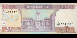 Afghanistan - p68b - 20 Afghanis - SH 1383 (2004) - Da Afghanistan Bank