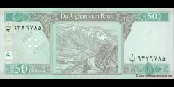 Afghanistan - p69a - 50 Afghanis - SH 1381 (2002) - Da Afghanistan Bank