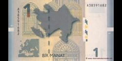 Azerbaïdjan - p24 - 1 Manat - 2005 - Azərbaycan Milli Bankı