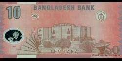 Bangladesh - p35 - 10 Taka - 2000 - Bangladesh Bank