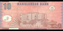 Bangladesh - p39d - 10 Taka - 2005 - Bangladesh Bank