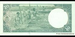 Bangladesh - p40f - 20 Taka - 2008 - Bangladesh Bank