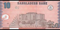 Bangladesh - p47c - 10 Taka - 2010 - Bangladesh Bank