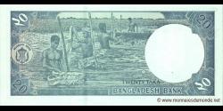 Bangladesh - p48c - 20 Taka - 2009 - Bangladesh Bank