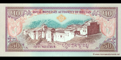 Bhoutan - p24 - 50 Ngultrum - ND (2000) - Royal Monetary Authority of Bhutan