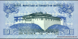 Bhoutan - p27a - 1 Ngultrum - 2006 - Royal Monetary Authority of Bhutan