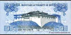 Bhoutan - p27b - 1 Ngultrum - 2013 - Royal Monetary Authority of Bhutan