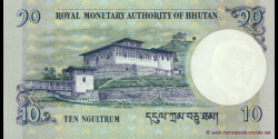 Bhoutan - p29a - 10 Ngultrum - 2006 - Royal Monetary Authority of Bhutan