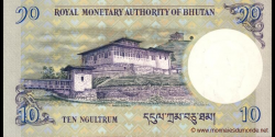 Bhoutan - p29b - 10 Ngultrum - 2013 - Royal Monetary Authority of Bhutan
