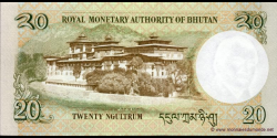 Bhoutan - p30a - 20 Ngultrum - 2006 - Royal Monetary Authority of Bhutan