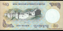 Bhoutan - p31a - 50 Ngultrum - 2008 - Royal Monetary Authority of Bhutan