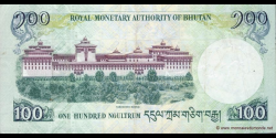 Bhoutan - p32a - 100 Ngultrum - 2006 - Royal Monetary Authority of Bhutan