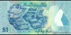 Bruneï - p35 - 1 Ringgit / Dollar - 2011 - Negara Brunei Darussalam / State of Brunei Darussalam