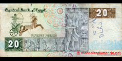 Egypte - p52b - 20 pounds - 1981 - Central Bank of Egypt