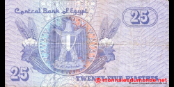 Egypte - p57d - 25 piastres - 21.01.2003 - Central Bank of Egypt