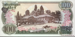 Corée du Nord - p22 - 100 Won - 1978 - Central Bank of the Democratic Peoples Republic of Korea