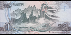 Corée du Nord - p39a - 1 Won - 1992 - Central Bank of the Democratic Peoples Republic of Korea
