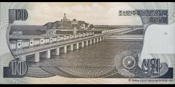 Corée du Nord - p41S - 10 Won - 1992 - Central Bank of the Democratic Peoples Republic of Korea