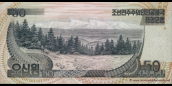 Corée du Nord - p42S - 50 Won - 1992 - Central Bank of the Democratic Peoples Republic of Korea