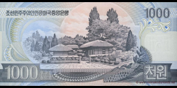 Corée du Nord - p45b - 1.000 Won - 2006 - Central Bank of the Democratic Peoples Republic of Korea