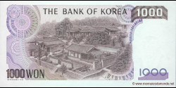 Corée du Sud - p47 - 1.000 Won - ND (1983) - Bank of Korea