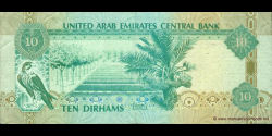Emirats Arabes Unis - p27b - 10 Dirhams - 2007 - United Arab Emirates Central Bank